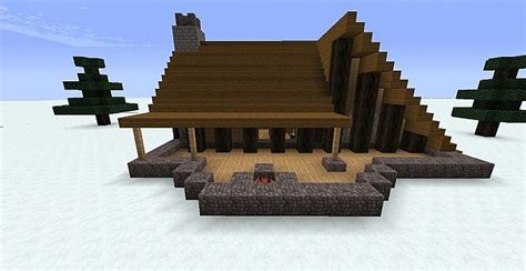 Minecraft Cabin House by Winter Cabin Minecraft Project