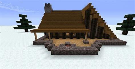 Winter Cabin Minecraft Project