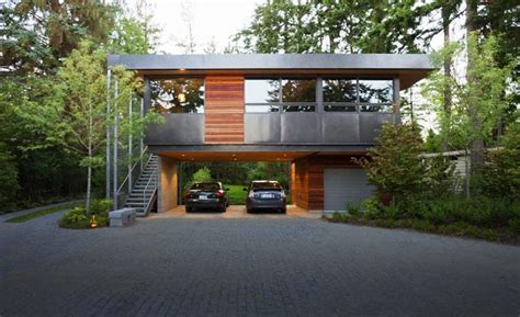 cool home garages cool garage ideas for car parking in modern house