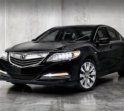 2016 acura rlx overview the news wheel
