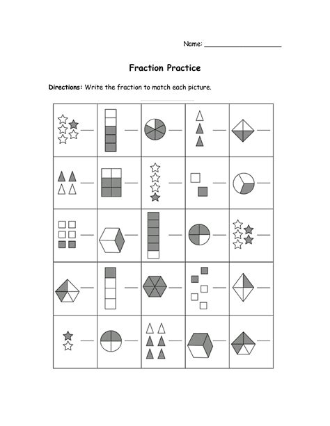 3rd Grade Practice Worksheets by 16 Best Images Of 3rd Grade Fraction Practice Worksheets