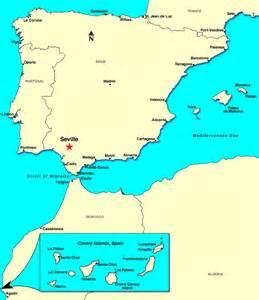 Seville Spain Map seville spain discount cruises last minute cruises