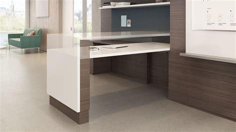 Ofs Element Reception Desk Ofs Slate Desk Ceoffice Design