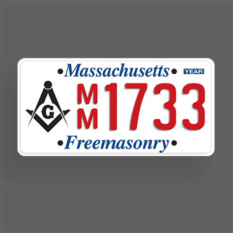 license plate reimbursement massachusetts freemasons