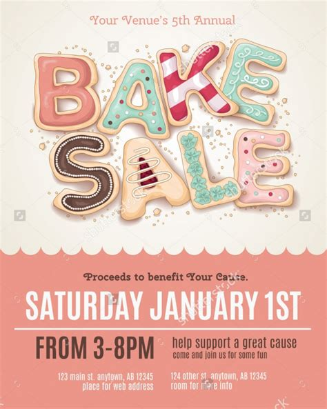 templates for bake sale flyers 28 bake sale flyer templates psd vector eps jpg