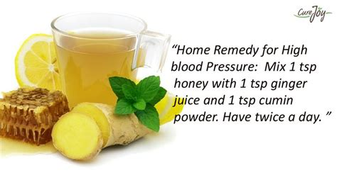 home remedy for high blood pressure