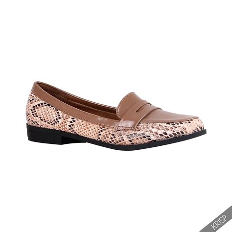 womens croc loafers womens croc reptile patent leather loafers flats