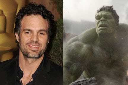 actor who plays hulk in the thor and avengers series of movies who played the hulk
