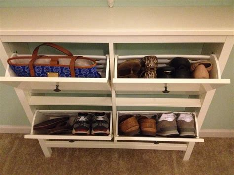 mahogany entryway shoe rack stabbedinback foyer