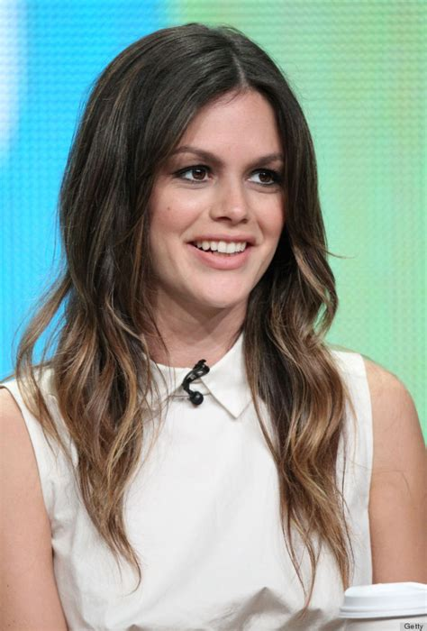 rachel thinning hair rachel bilson is still our hair icon after all these years