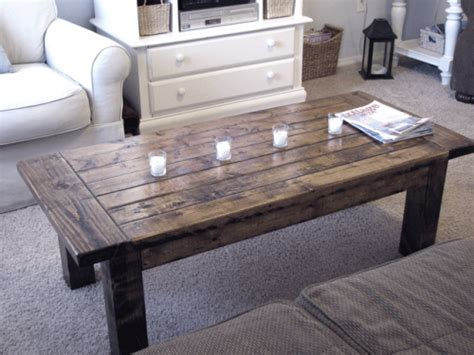 How To Build A Rustic Coffee Table White Tryde Coffee Table Diy Projects