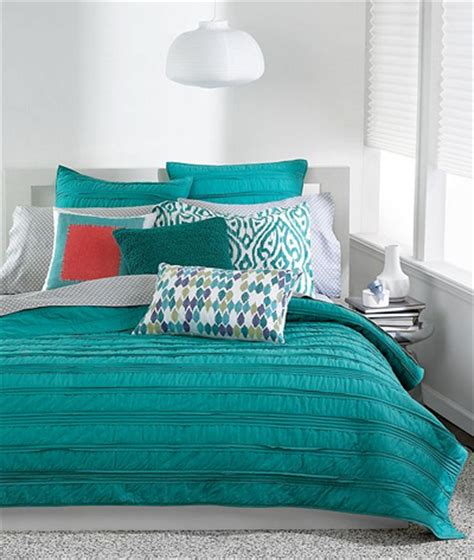 teal coverlet solid teal ruffled coverlet collection everything turquoise