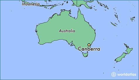 australia on a world map where is canberra australia canberra australian