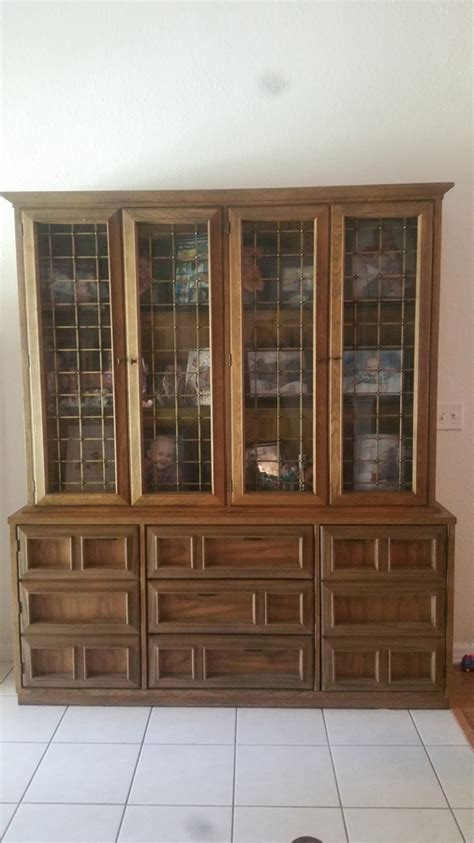 Basset China Hutch   My Antique Furniture Collection