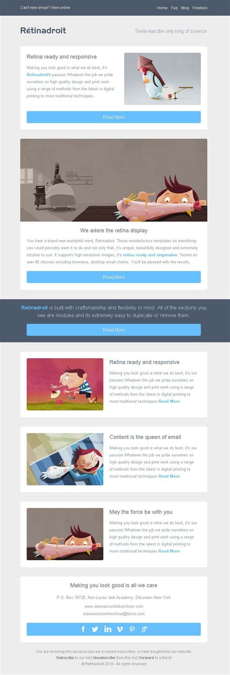 simple html email templates responsive email template invoice template mailchimp