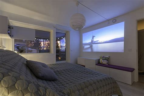 Bedroom Projector by I Hacked A Home Cinema Nightstand From The Besta