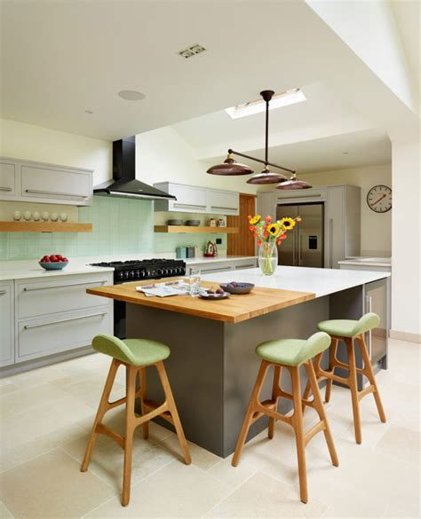 How To Design A Kitchen Island With Seating 15 Kitchen Islands With Seating For Your Family Home