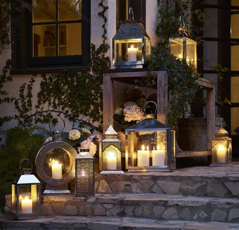 Patio Lantern Lights by Set The Mood For Summer Outdoor Entertaining Huffpost
