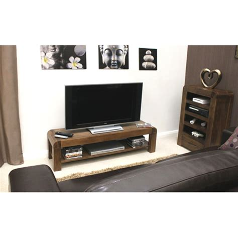Low Tv Cabinet by Shiva Walnut Low Tv Cabinet 8848 Furniture In Fashion