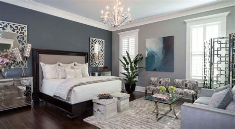 transitional master bedroom with high ceiling by monique 26 transitional bedroom designs decorating ideas