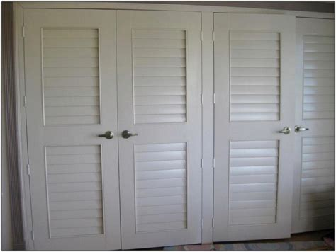 White Shutter Closet Doors Closet Doors Modern Bedroom With Closet Doors Prehung Ideas Brown Ceiling Fan