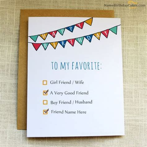 Things To Write On A 21st Birthday Card 23 Best Images About Birthday Name Cards For Friends On
