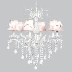 room white chandelier light fixture nursery