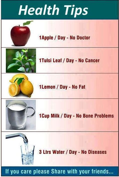 tips for day every day health tips health tips kfoods