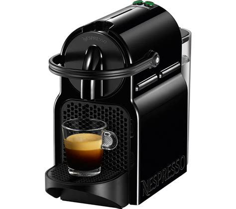 Nespresso Coffee Machine buy nespresso by magimix inissia 11350 coffee machine black free delivery currys