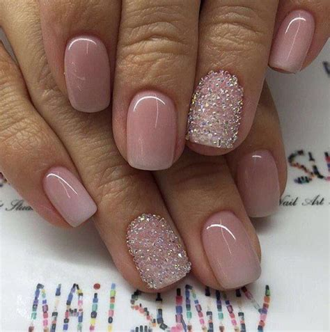 Wedding Dress Nail Color by 17 Best Ideas About Pink Tip Nails On Pretty