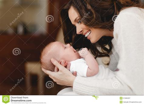 cute teenager girls sleeping stock photos and images happy mother with newborn baby stock photo image 51685207
