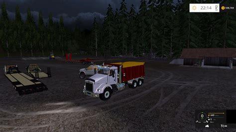 kenworth bed truck kenworth dump bed truck v2 fs15 mod download