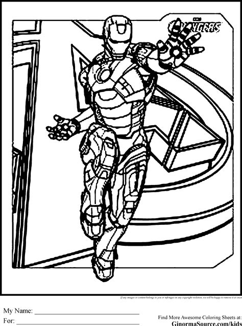 avengers iron man coloring page free printable coloring avengers coloring pages iron man coloring pages