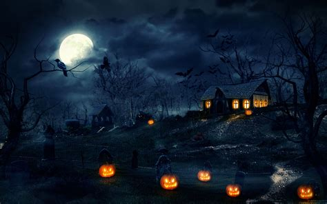 pc horror themes free scary halloween backgrounds wallpaper collection 2014