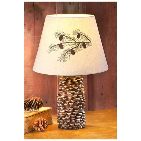 pine cone l shade castlecreek 174 pinecone l 307437 lighting at sportsman