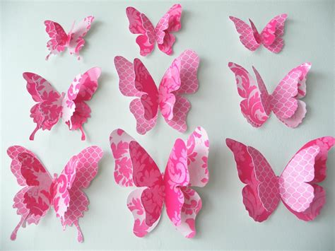 Papercraft Butterfly - 3d butterfly craft pictures to pin on pinsdaddy