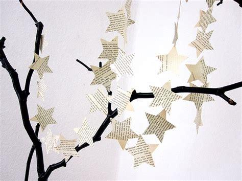 Weihnachtsdeko Für Fenster Aus Papier by 25 Einzigartige Weihnachtsgirlande Ideen Auf