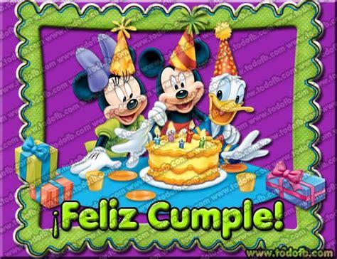 imagenes para cumpleaños gratis para descargar tarjetas de fel 237 z cumplea 241 os con personajes de disney para