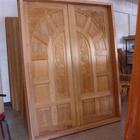 Depan Jati Minimalis Ukiran Jepara kusen pintu ukiran jepara kayu jati rjt 490 jual tempat tidur asli jepara minimalis dan ukiran