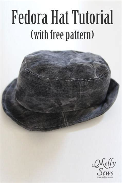 fedora hat template fedora hat by mellysews craftsy