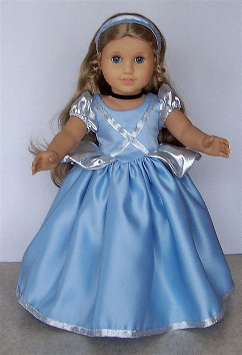 design american doll american girl doll clothes cinderella gown with