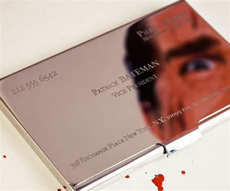 american psycho business card template american psycho business cards fragmat info