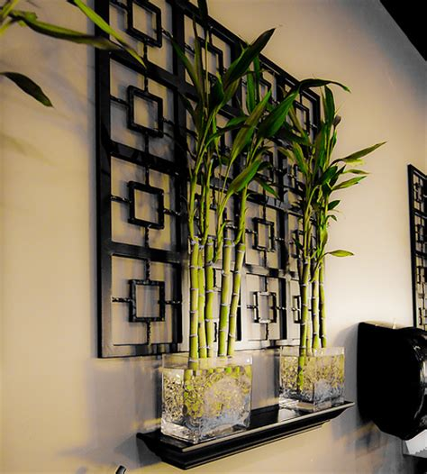 bamboo home decor bamboo plants rice bistro sushi restaurant in