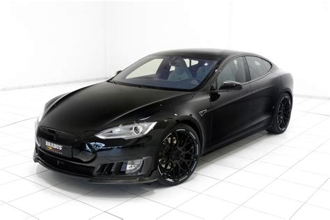 brabus tesla model s zero emission is electrifying