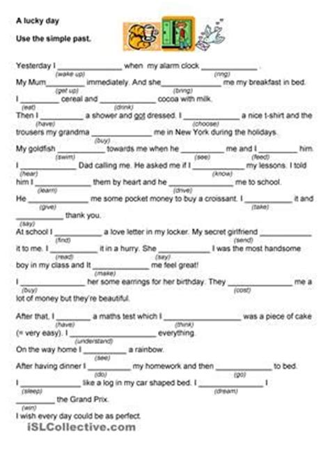 pattern verb synonym irregular past tense worksheets ks2 simple past tense