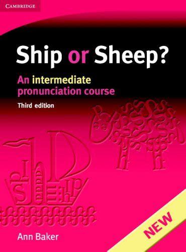 ship or sheep pdf ship or sheep an intermediate pronunciation course