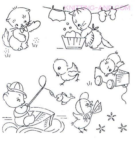 Free Vintage Embroidery Patterns Download