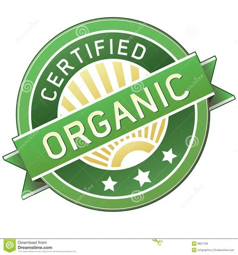 2d Home Design Free Download by Certified Organic Product Or Food Label Royalty Free Stock