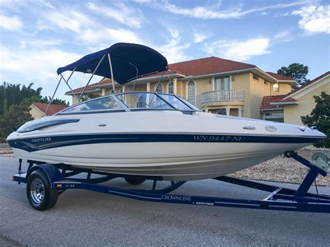 crownline outboard boats for sale crownline 19ss boat for sale from usa