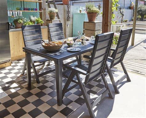 Allibert Patio Furniture by Allibert By Keter Brasilia Reclining Outdoor Garden